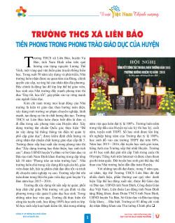 Truong THCS xa Lien Bao